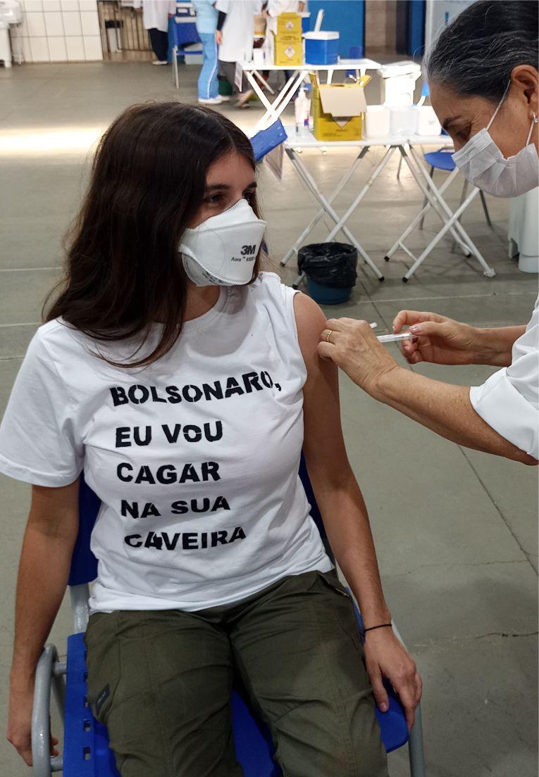 Camiseta Fora Bolsonaro