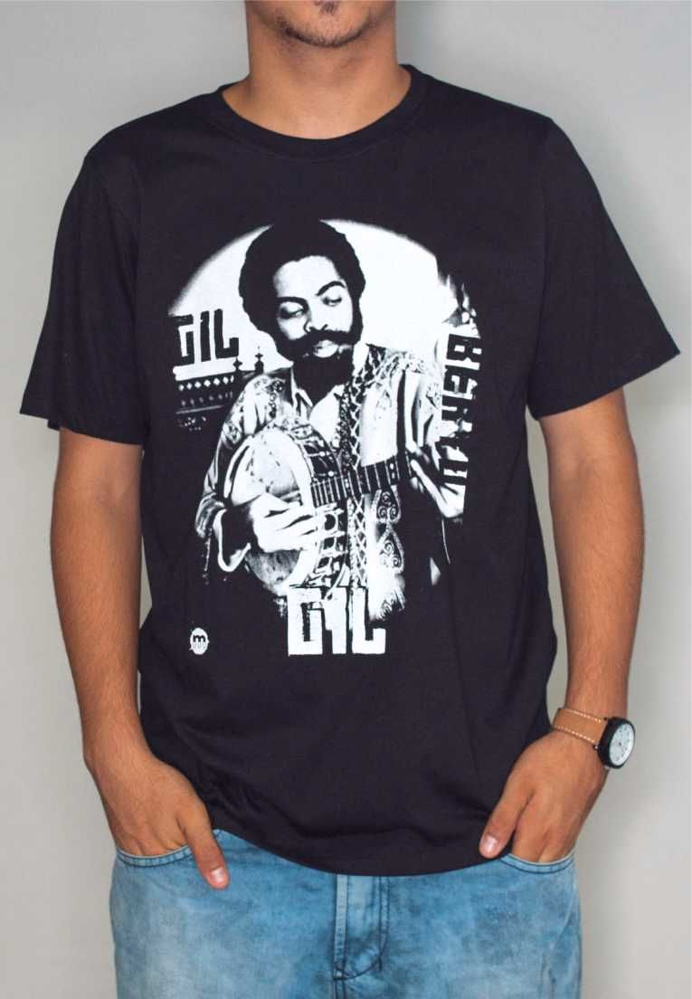 Camiseta Gilberto Gil Masculina