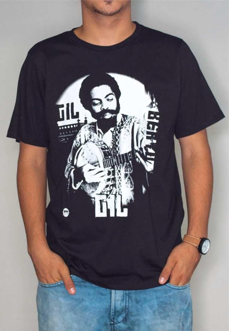 Camiseta Gilberto Gil Feminina