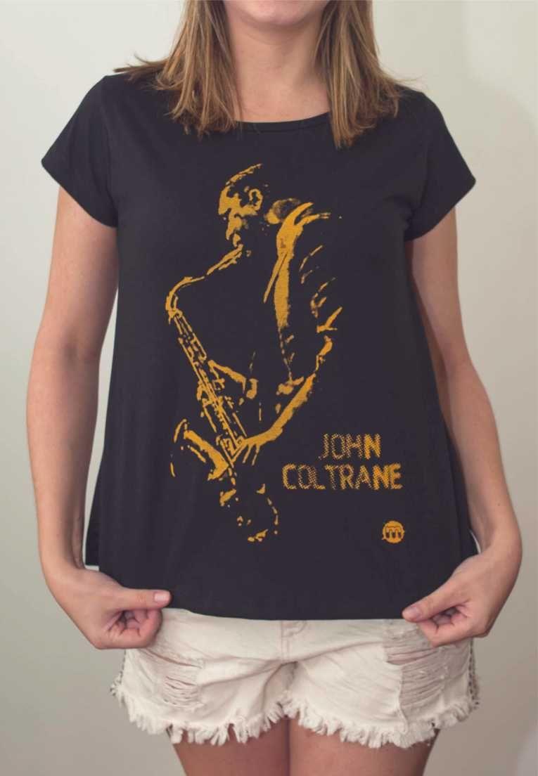 Camiseta John Coltrane Masculina