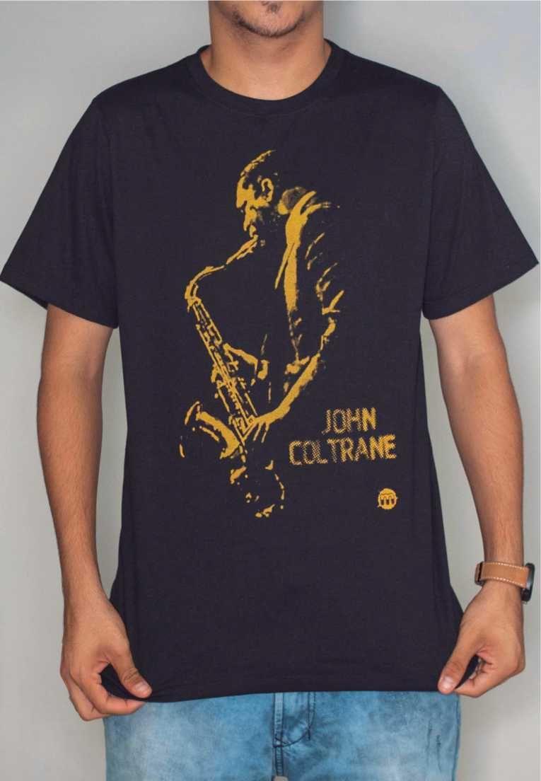 Camiseta John Coltrane Feminina