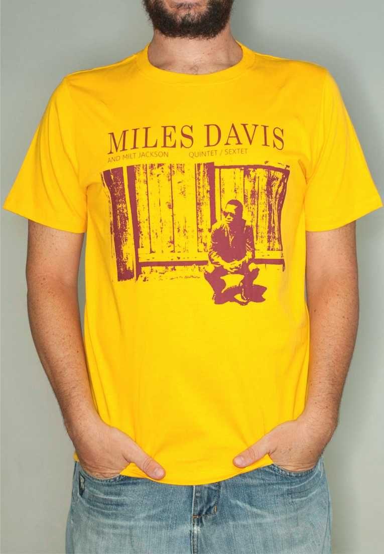Camiseta Miles Davis Masculina