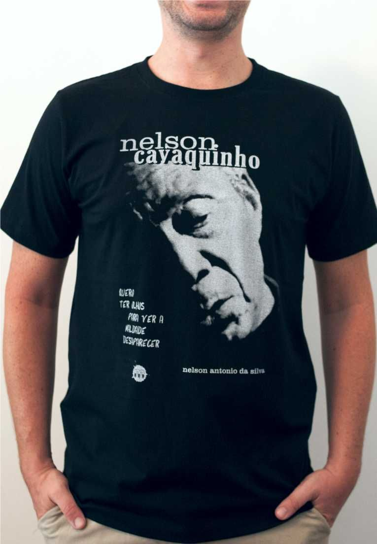 Camiseta Nelson Cavaquinho Masculina