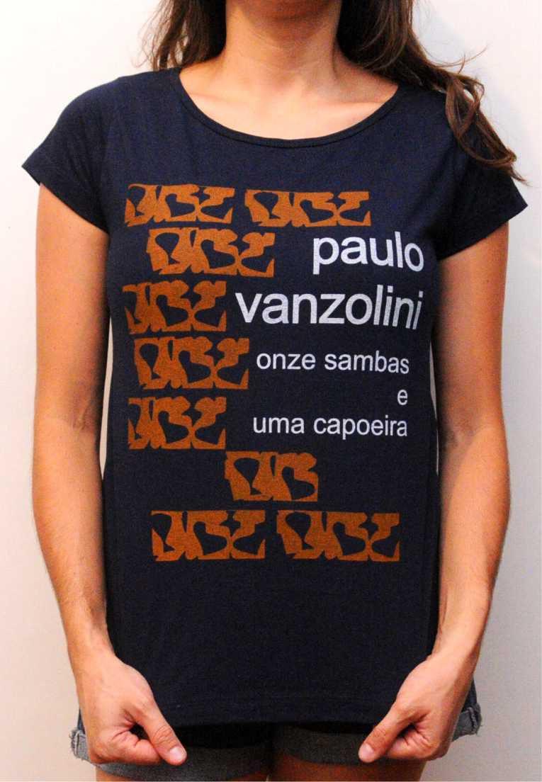 Camiseta Paulo Vanzolini Masculina
