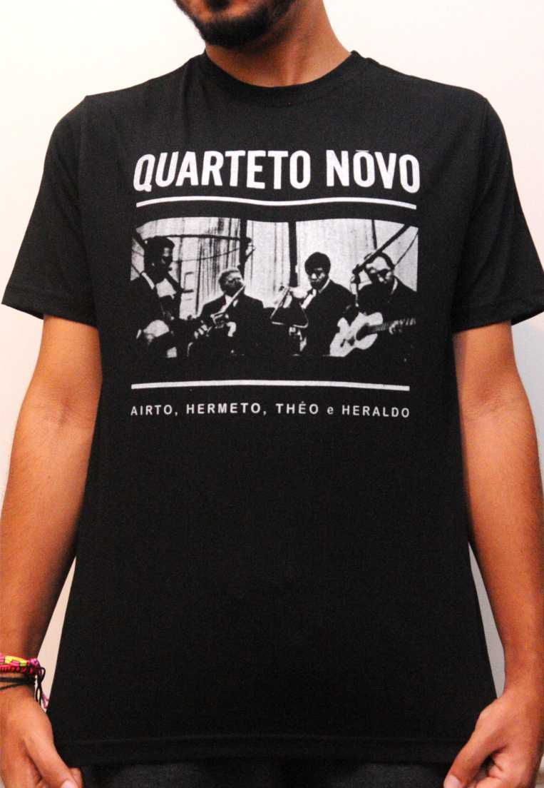 Camiseta Quarteto Novo Feminina