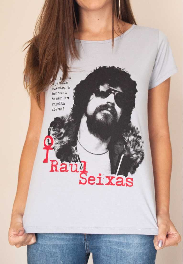 Camiseta Raul Seixas Feminina