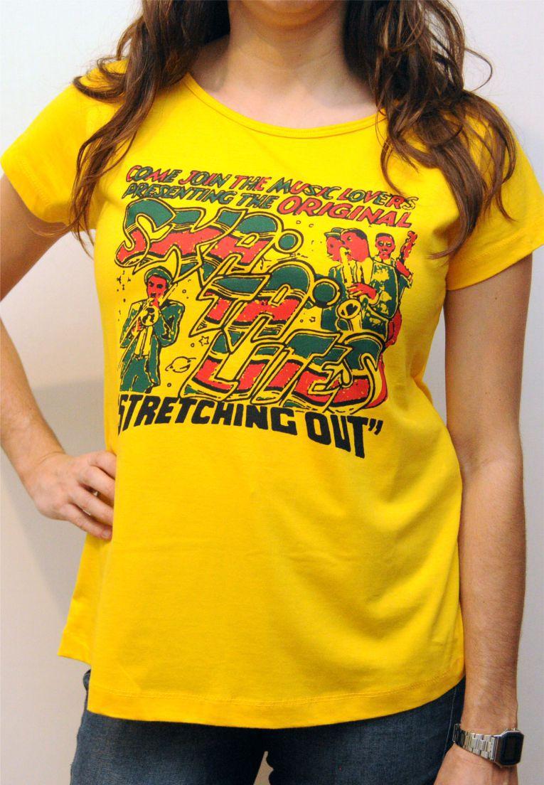 Camiseta Skatalites Feminina