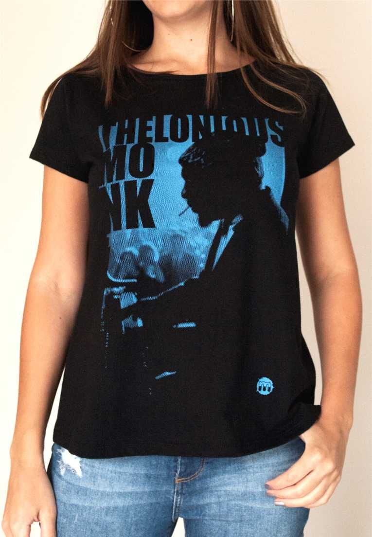 Camiseta Thelonious Monk Feminina