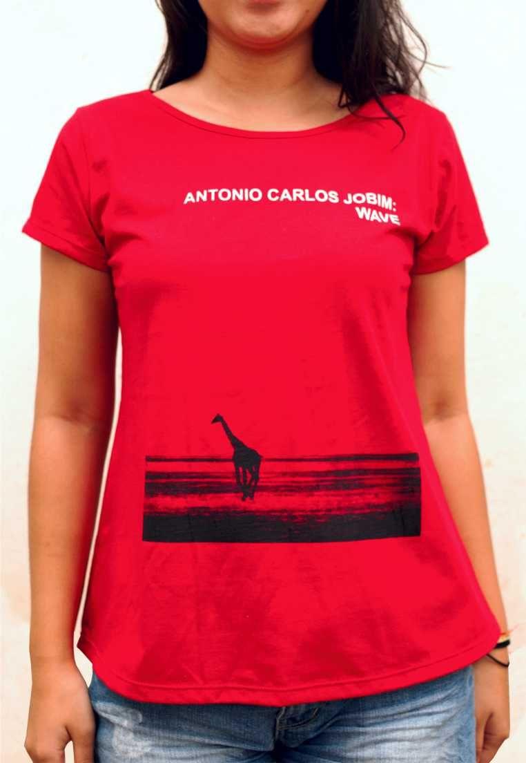 Camiseta Tom Jobim Wave Feminina