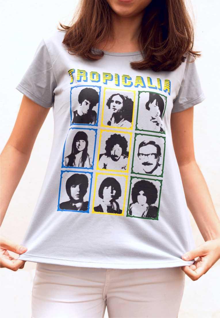 Camiseta Tropicália Feminina