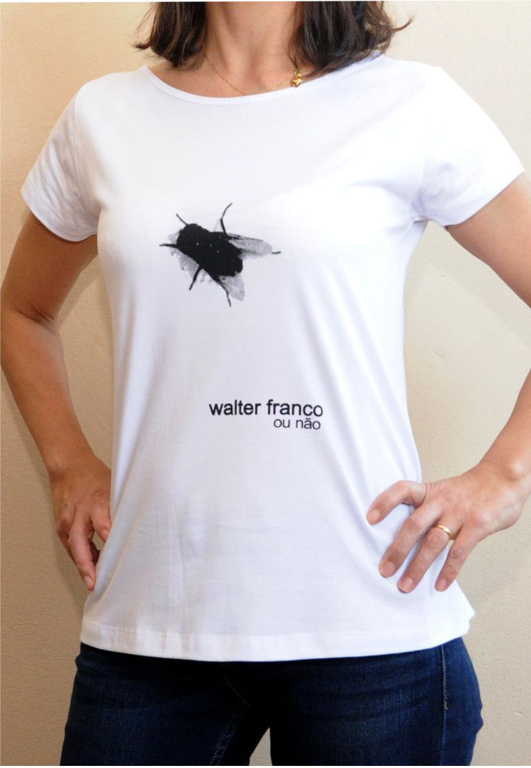 Camiseta Walter Franco Feminina