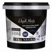 CERA DEPILATÓRIA NEGRA - DEPIL MAIS (CRAVO) -  1,300 KG