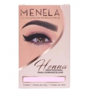 HENNA PARA SOBRANCELHA (2,5G) - CORES VARIADAS - MENELA