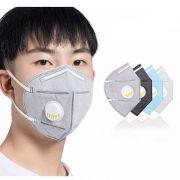 MÁSCARA N95 PM2.5 PARA PROTEÇÃO (CORES VARIADAS) - UNIDADE