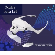 ÓCULOS LUPA COM LED