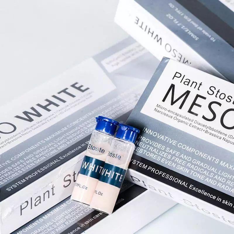 1 AMPOLA MESO WHITE PLANT STOSTE AMPOLA 5ML COR:1  - Misstética
