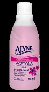 ACETONA ALYNE PINK - 100ML  - MISSTÉTICA