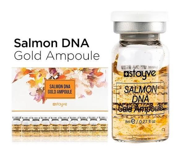 BB GLOW  SÉRUM SALMON DNA GOLD  - 1 AMPOLA / COM ANVISA  - Misstética