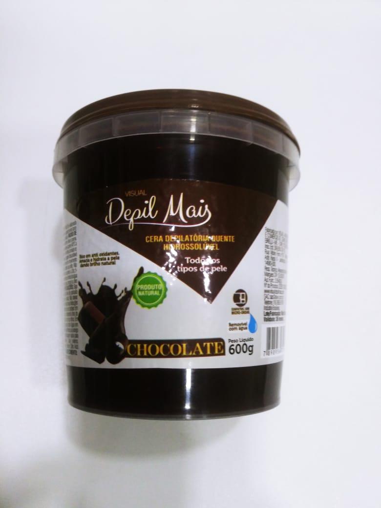 CERA DEPIL MAIS QUENTE CHOCOLATE - 300G  - Misstética