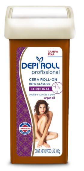 CERA DEPi ROLL PROFISSIONAL - ROLL-ON REFIL 100G (TIPOS VARIADOS)  - Misstética