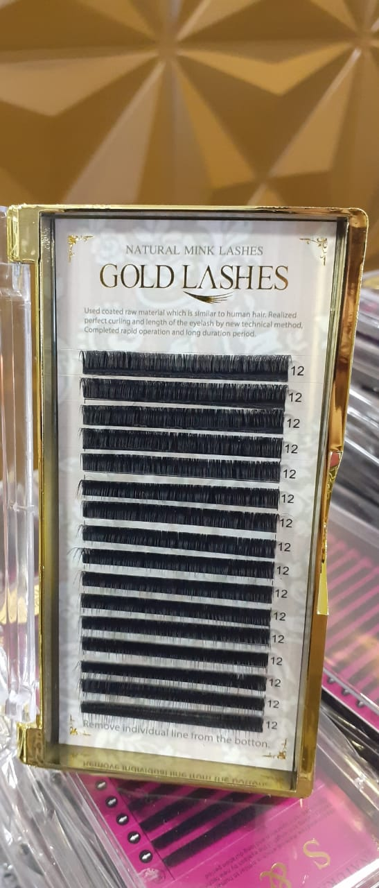 CÍLIOS GOLD LASHES 0.03D - MEGA VOLUME  - Misstética