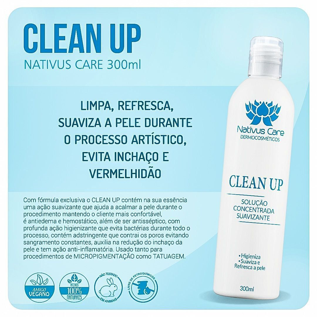 CLEAN UP NATIVUS CARE 300ML  - Misstética