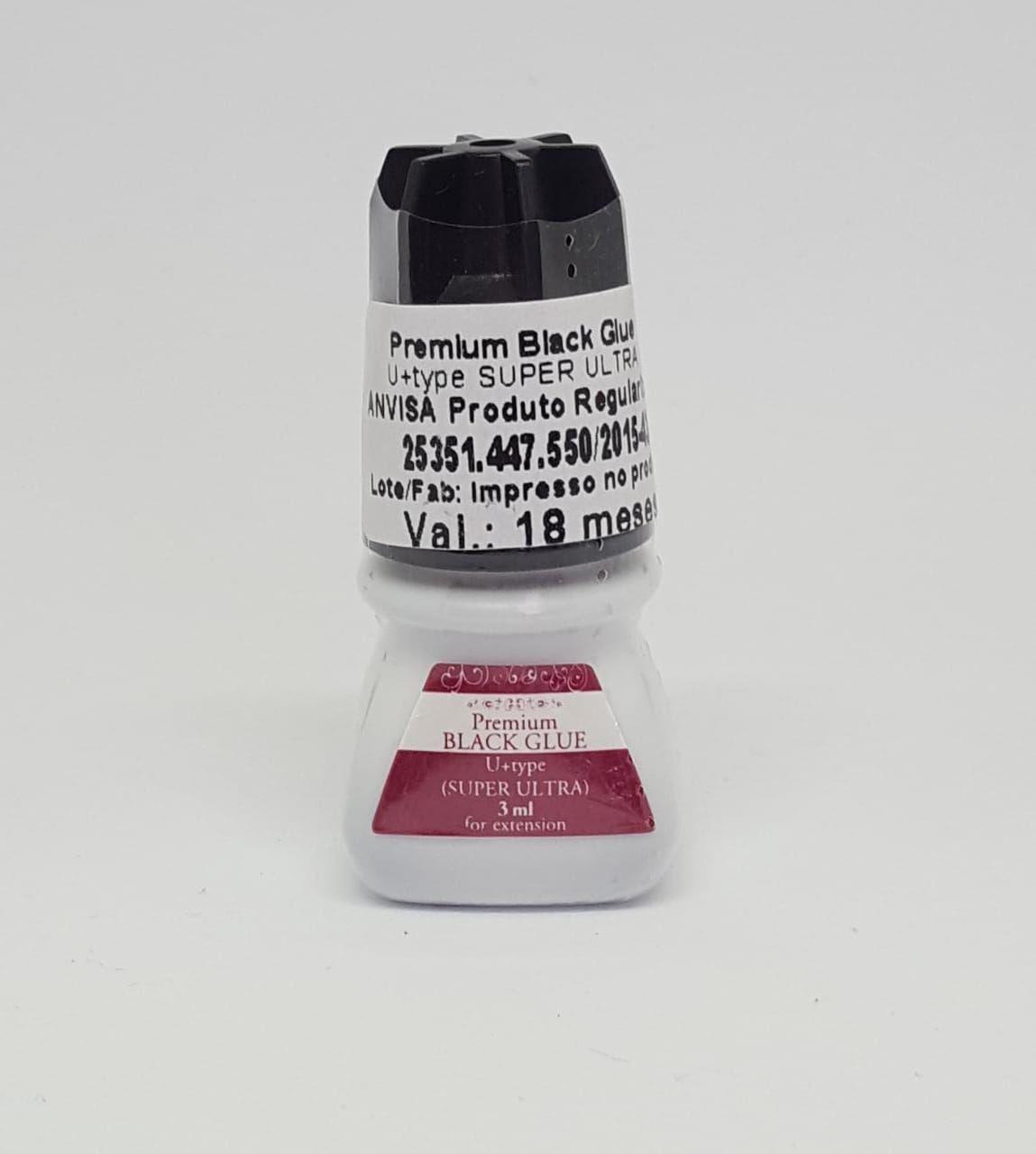 COLA BLACK GLUE PREMIUM - 3 ML  - Misstética