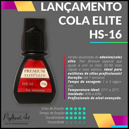 COLA ELITE PREMIUM BLACK HS-16 - 10 ML  - Misstética