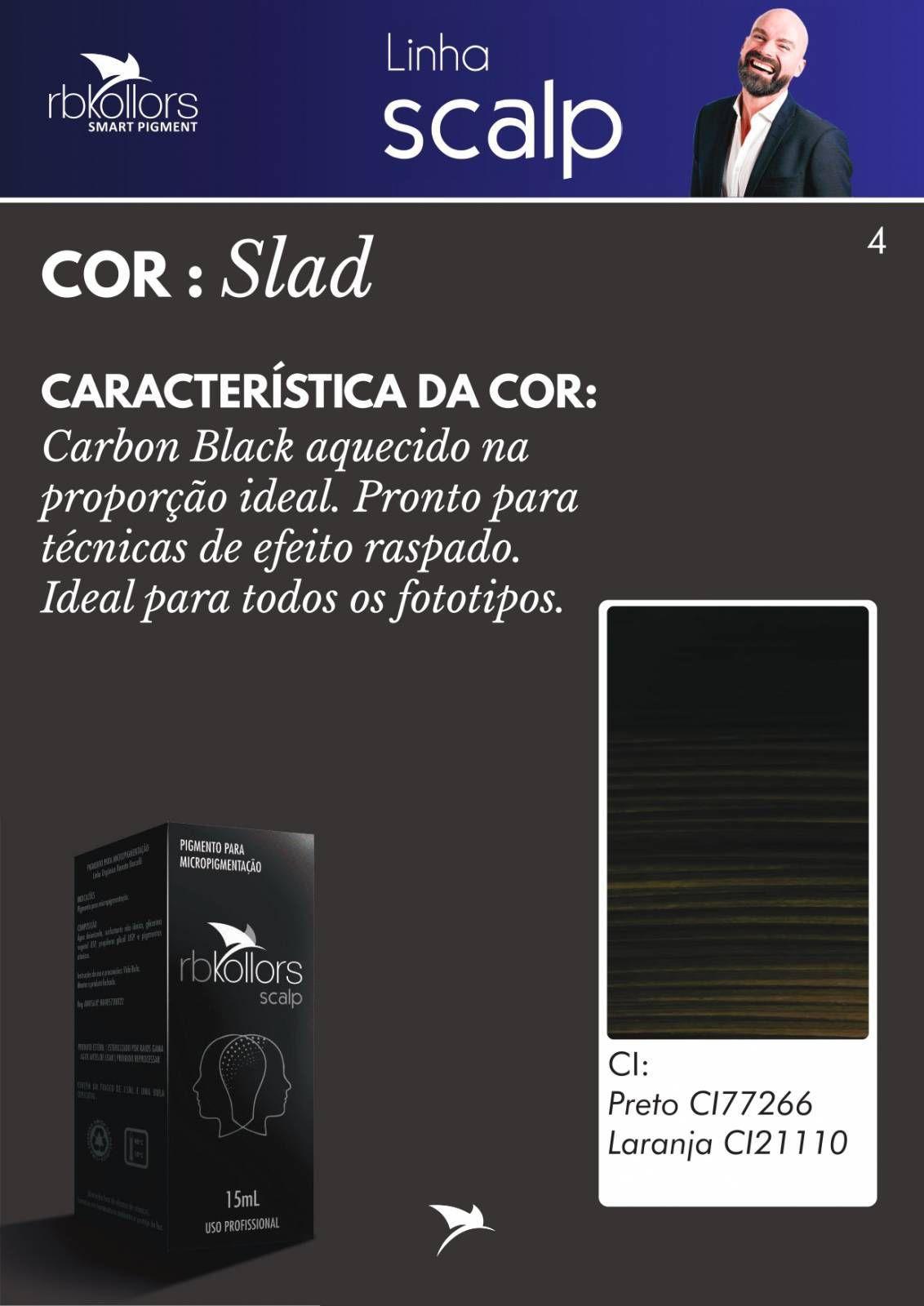 PIGMENTO RB KOLLORS - SCALP SLAD (15ML)  - Misstética