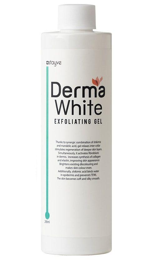 DERMA WHITE GEL ESFOLIANTE - 290ML  - Misstética