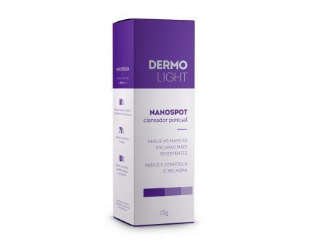 DERMOLIGHT NANOSPOT (15G) - LINHA PROFISSIONAL (PROFISSIONAL TEM DESCONTO! ENTRAR EM CONTATO 85 985305205)  - Misstética