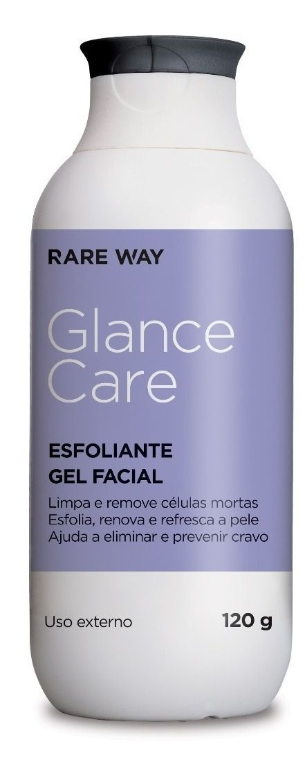 ESFOLIANTE GEL FACIAL GLANCE CARE - RARE WAY (120ML)  - Misstética
