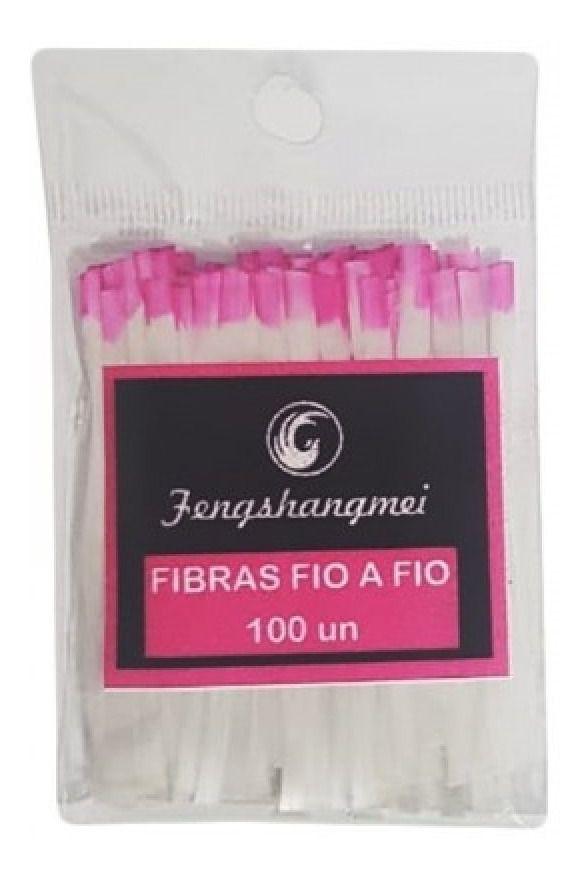 FIBRAS DE VIDRO FIO A FIO  FENGSHANGMEI- (100 UNIDADES)  - Misstética