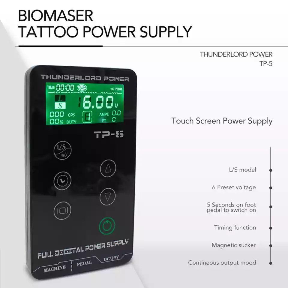 FONTE BIOMASER TATTOO  THUNERLORD  POWER TP-5   - Misstética