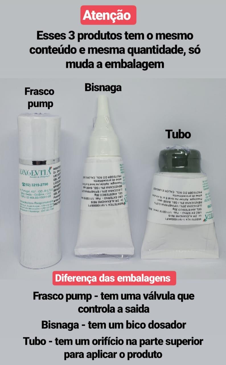 GEL ANESTÉSICO MANIPULADO - ZERO DOR (30G)  - Misstética