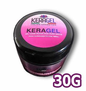 GEL PINK CONSTRUTOR KERAGEL 30G -  PROMOÇÃO   - Misstética
