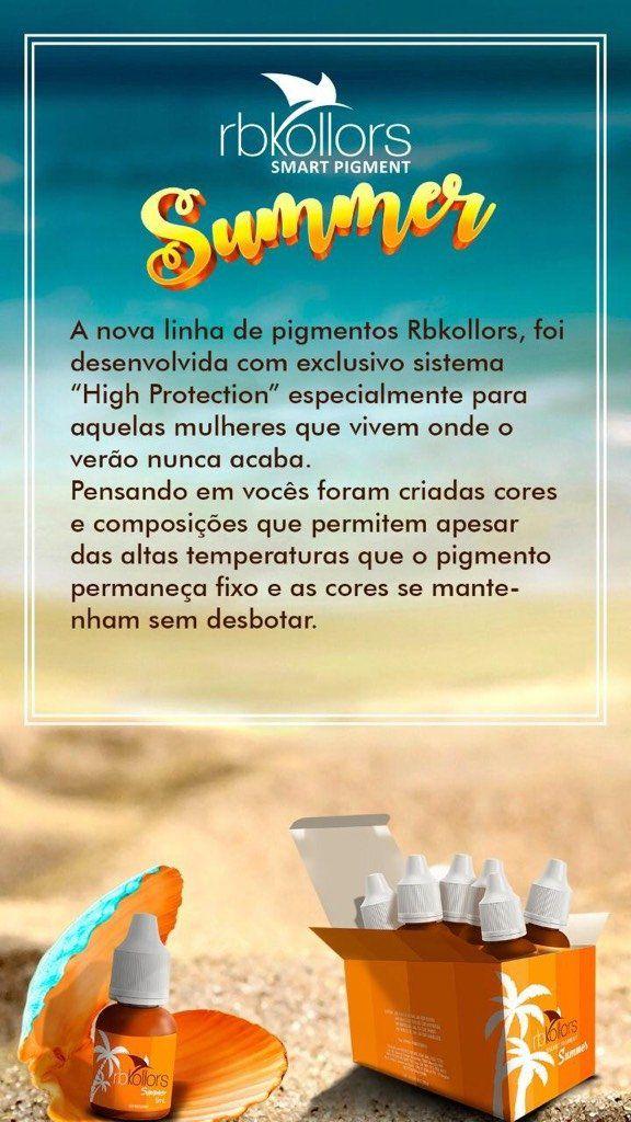 KIT SUMMER RBKOLLORS - 6 CORES - PREÇO PROMOCIONAL (APROVEITEM)  - Misstética