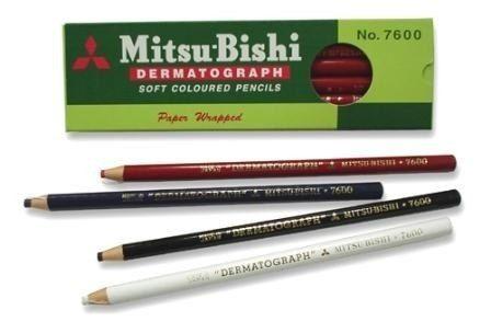 LÁPIS DERMATOGRÁFICO MITSUBISHI 7600  - Misstética