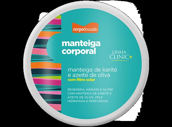 MANTEIGA CORPORAL  300G  - CORPO DOURADO  - Misstética