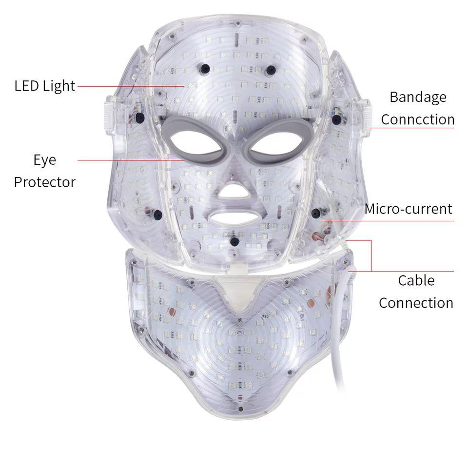 MÁSCARA DE LED - PREMIUM  - Misstética