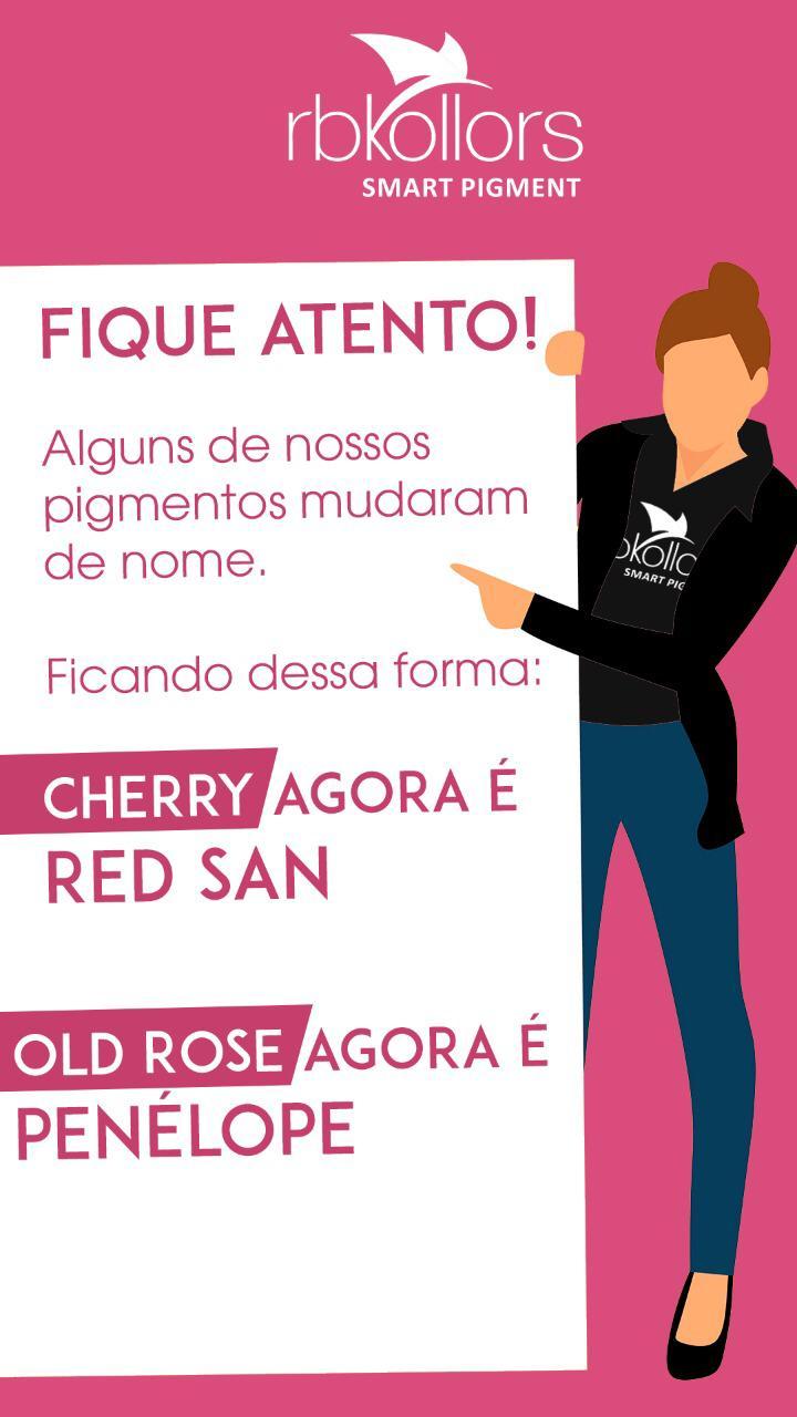 PIGMENTO RB KOLLORS - CHERRY (RED SAND)  - Misstética
