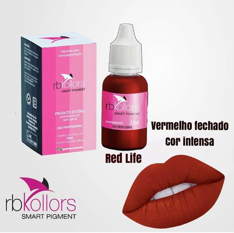 PIGMENTO RB KOLLORS - RED LIFE  - Misstética