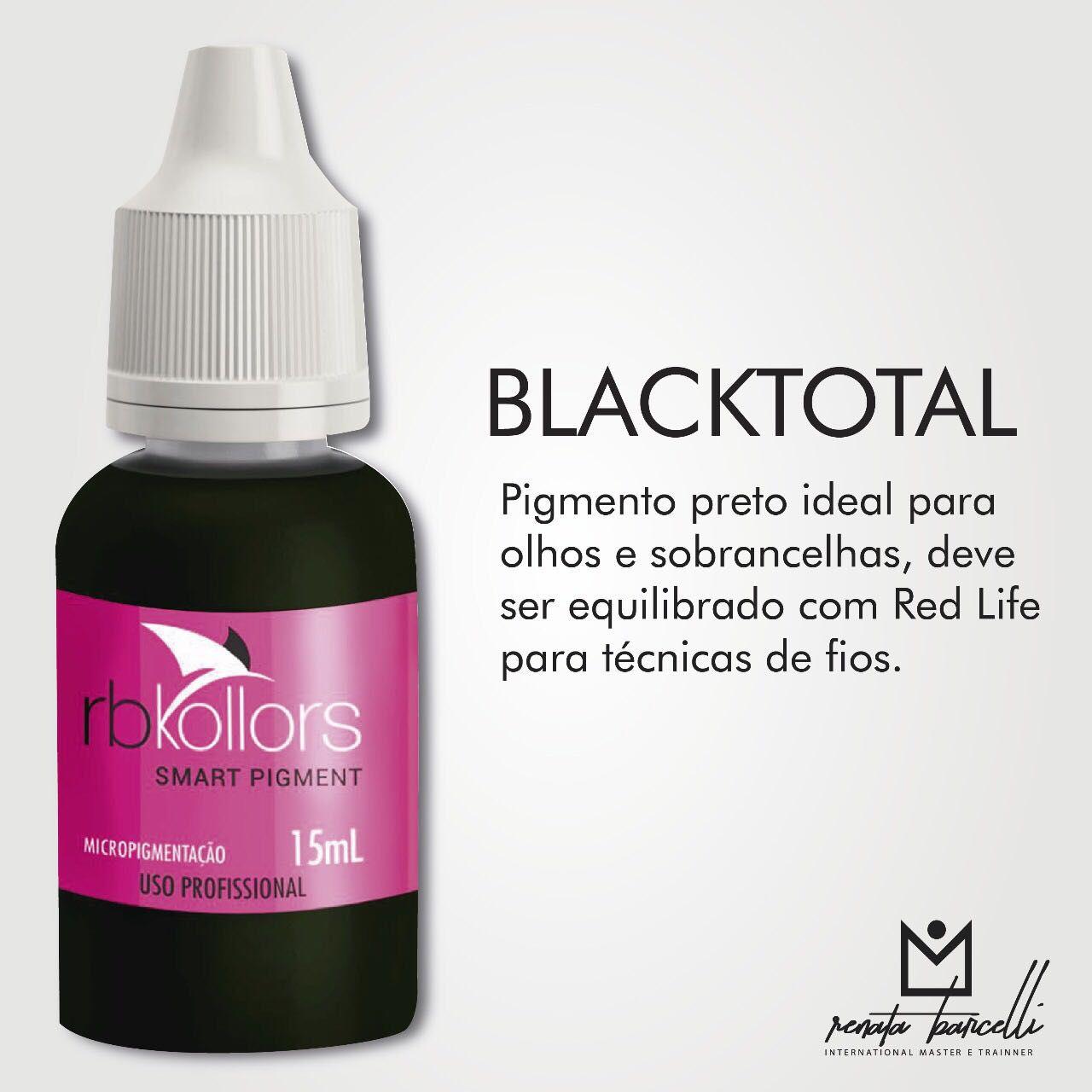 PIGMENTO RB KOLLORS - TOTAL BLACK  - Misstética