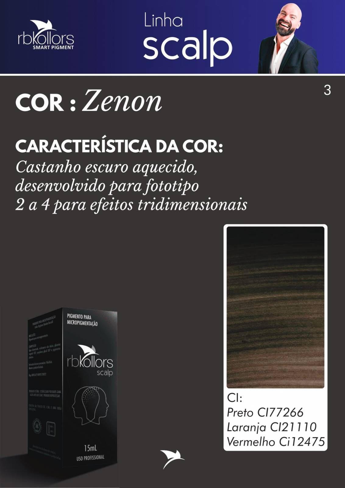 PIGMENTO RB KOLLORS - SCALP ZENON (15ML)  - MISSTÉTICA