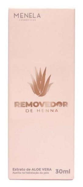 REMOVEDOR DE HENNA - 30ML - MENELA  - MISSTÉTICA