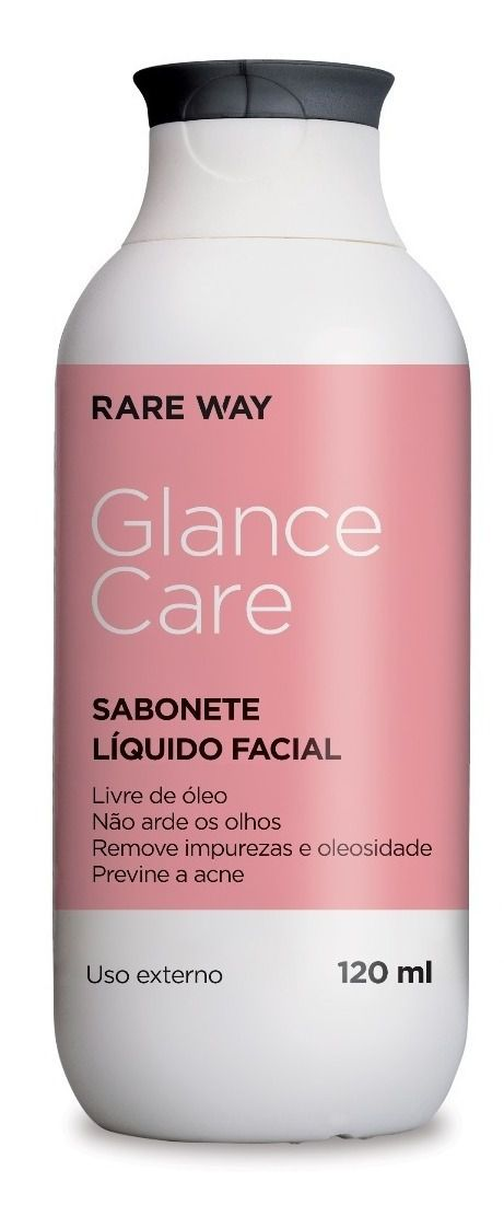 SABONETE FACIAL GLANCE CARE - RARE WAY ( 120ML)  - Misstética