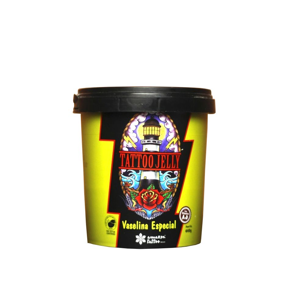 VASELINA ESPECIAL TATTOO JELLY - AMAZON 440 G  - Misstética
