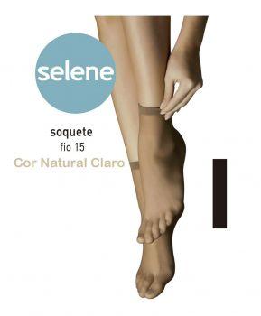 MEIA SELENE SOQUETE FIO 15