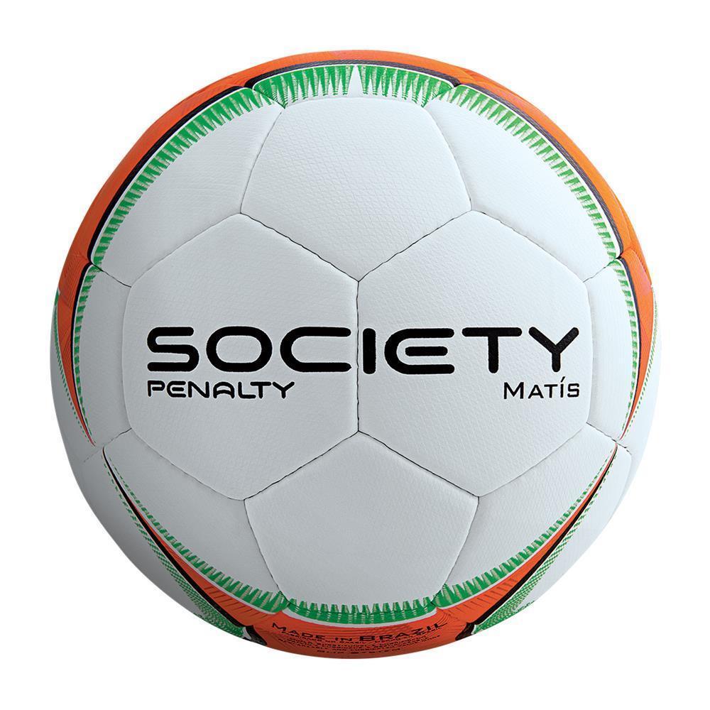 Bola de Futebol Society Penalty Matis Costurada à Mão