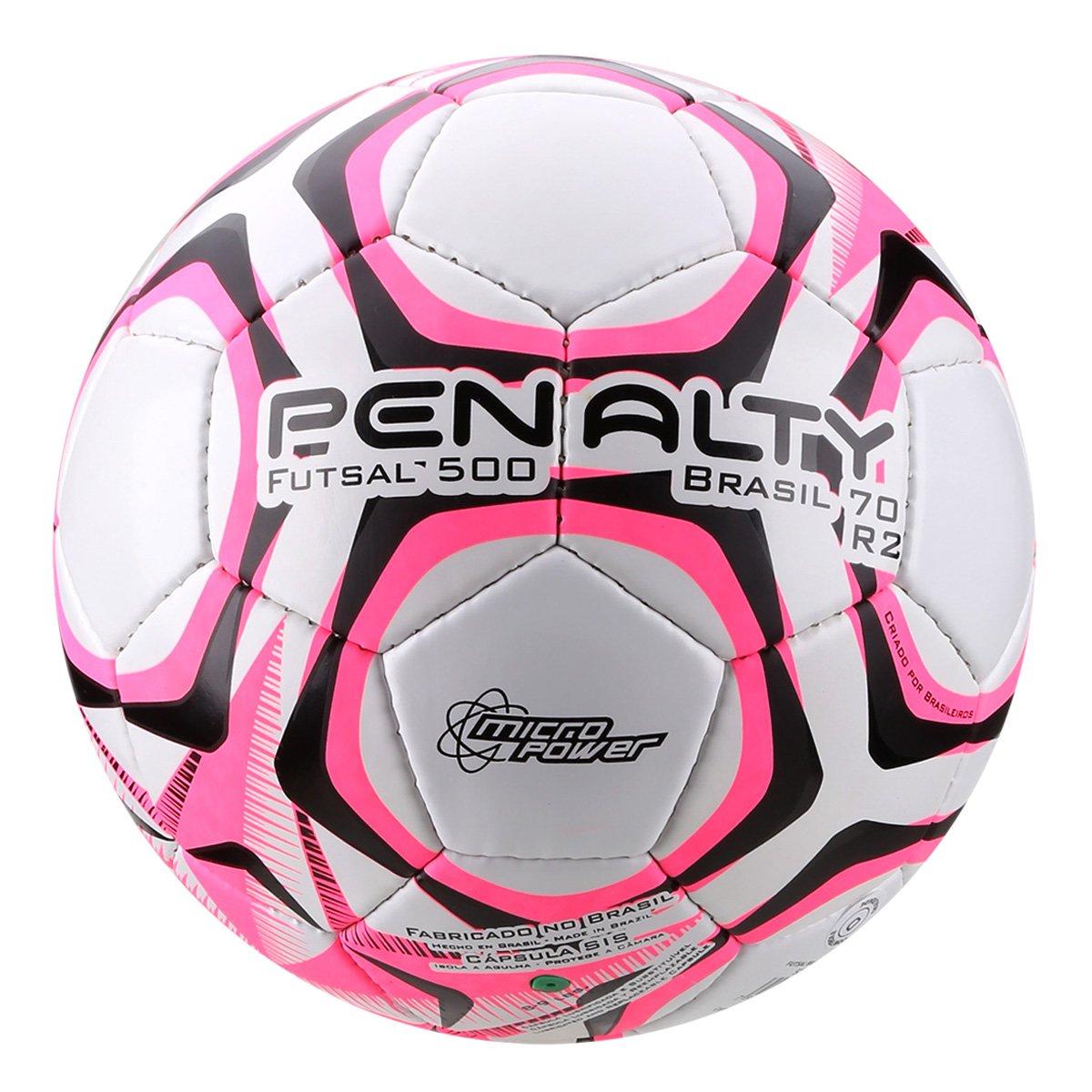 Bola Futsal Penalty Brasil 70 R2 Costurada a mão